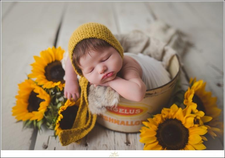 She was just perfect baby s st paul newborn photographerthe